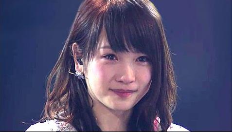 涙の卒業、AKB川栄李奈